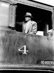 Abe in Locomotive #4